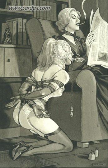 erotisk fortelling bondage sex