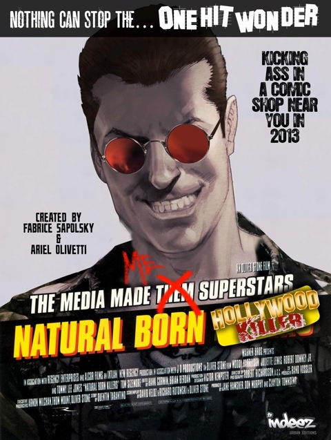 Natural Born Hollywood Killer.  By Ariel Olivetti.