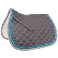 blue english saddle pads - Google Search