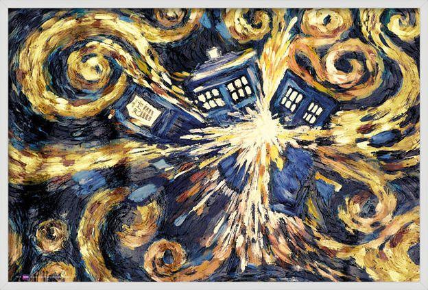 DOCTOR WHO - exploding tardis - Plakát, Obraz na zeď | Posters.cz
