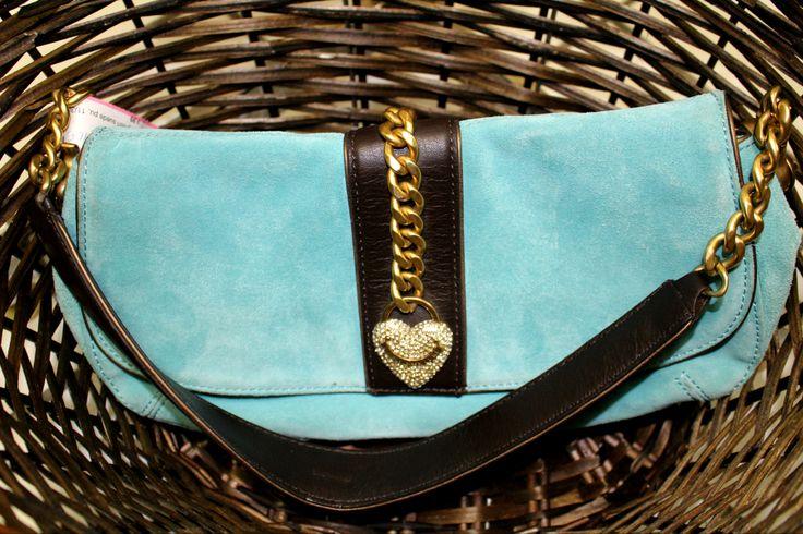 Juicy Couture purse. Super cute! Blue suede.