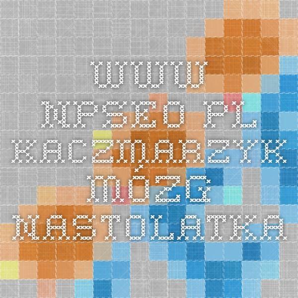 www.npseo.pl Kaczmarzyk mózg nastolatka