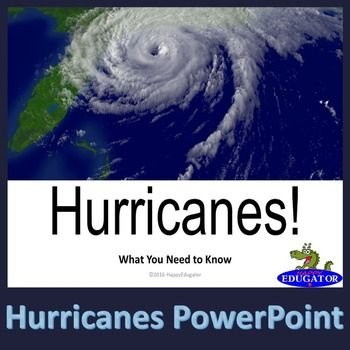 All about hurricanes! Information on how these storms develop -  hurricane structure, their effects, and how they are tracked, and more. Includes: What is a hurricane?What is the structure of a hurricane?How does a hurricane form?Where and when do hurricanes form?What are the effects of hurricanes?What are the differences between hurricanes, typhoons, and cyclones?What is the hurricane classification scale?What is the hurricane strength scale?Evacuation/ PreparationWatches and Warnings…