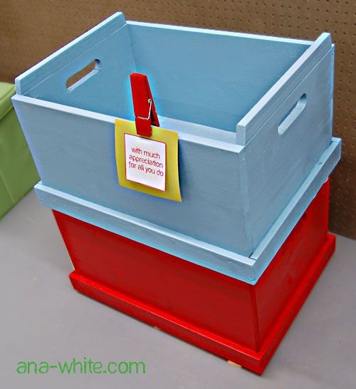 stacking toy boxes to organize the millions of toys around our house: Organizations Kids, Toys Boxes, Boys Rooms, Boxes Ideas, Toys Bins, Toy Boxes, Handmade Gifts, Kids Gifts, Stacking Toys