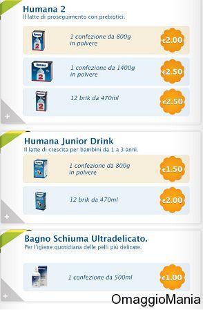 Buoni sconto latte in polvere o liquido Humana - http://www.omaggiomania.com/bambini/buoni-sconto-latte-polvere-o-liquido-humana/