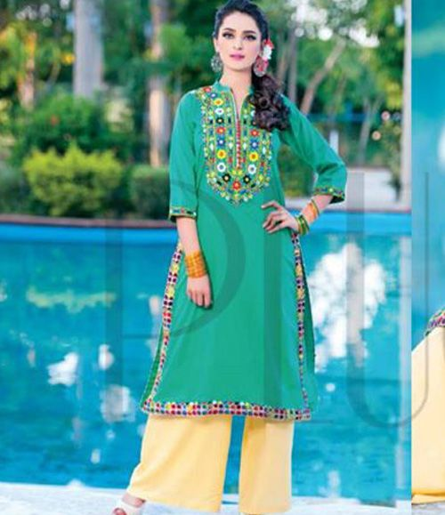 Plush Embroidered Kurtis Eid Collection by Riaz Arts EK_42
