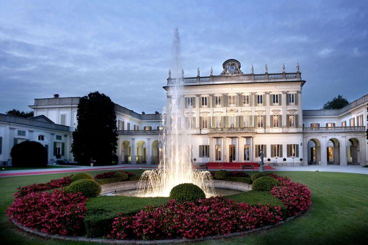 Ingresso principale di Villa Borromeo a Cassano d'Adda Milano - Matrimonio da Favola