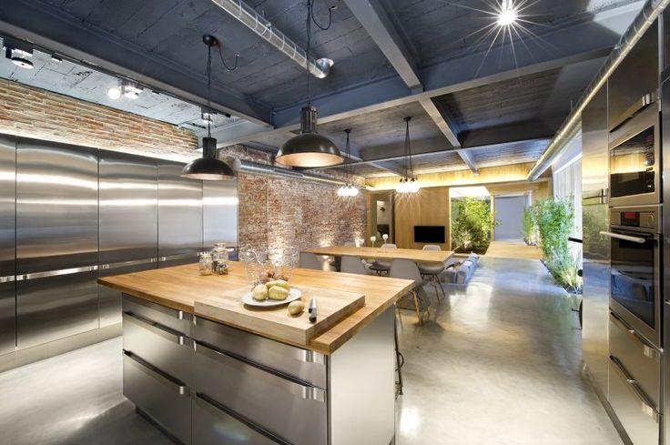 RVS keuken loft