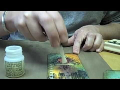 Rock Candy video by Tim Holtz