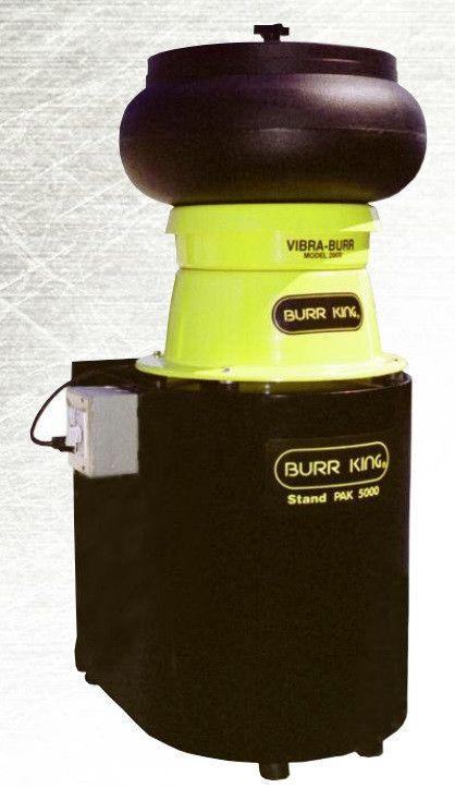 BURR KING - Combi PAKS - Vibra KING Bench Top Bowl Model 150 & 200 (0.33 & 0.66 Cubic Feet)
