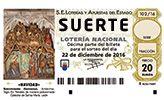 Ya puedes comprar online décimos de diferentes administraciones para el Sorteo de Lotería de Navidad 2016. Doña Manolita, Barquillo y muchas más.