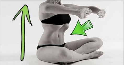 Questo semplice esercizio è molto efficace e molto diffuso tra chi pratica yoga. Ti aiuterà a rinforzare i muscoli addominali e a ridurre il giro vita in 3 o 4 settimane.  Bisognerà effettuare almeno 5 ripetizioni. Nonostante possa sembrare difficile, dopo qualche tentativo i muscoli si tonificheranno, rendendo tutto più semplice.  Posizione iniziale: Sdraiati sulla schiena mantenendo le braccia vicine al corpo. Piega le ginocchia e rilassa i muscoli. Espira lentamente, lasciando uscire…