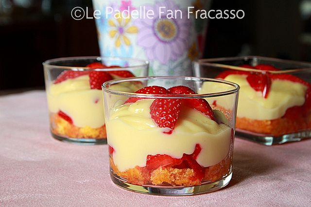 zuppa inglese alle fragole by sandra merizzi, via Flickr
