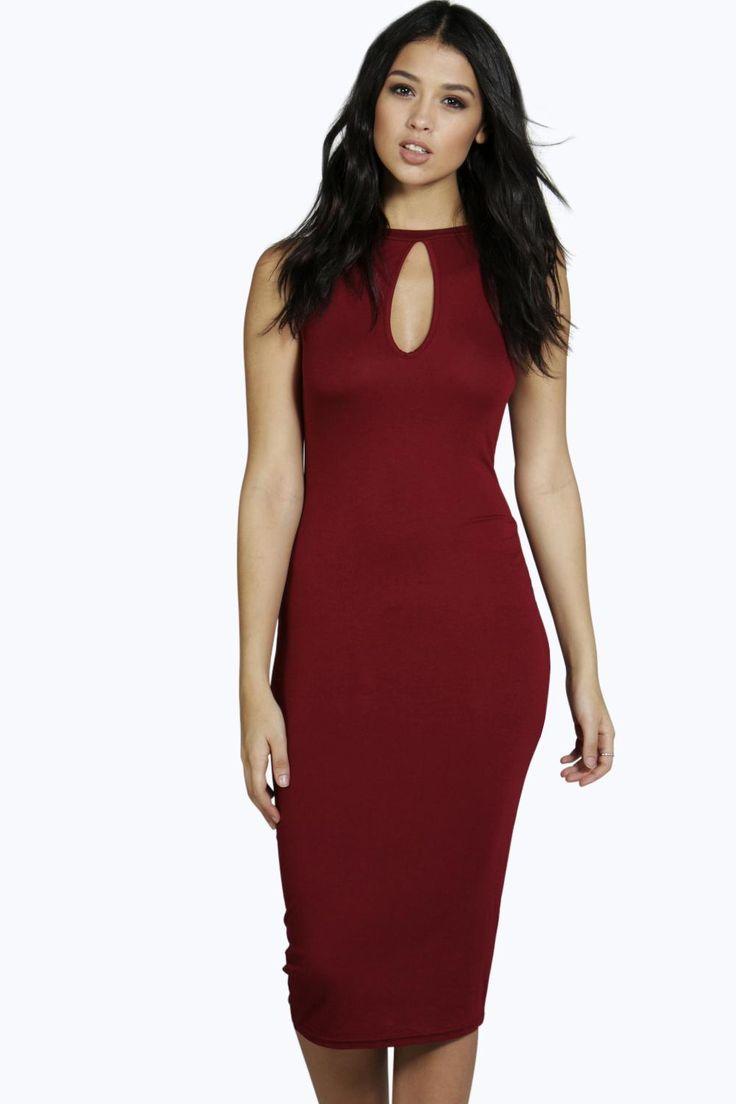 Cocktail dress midi length vest