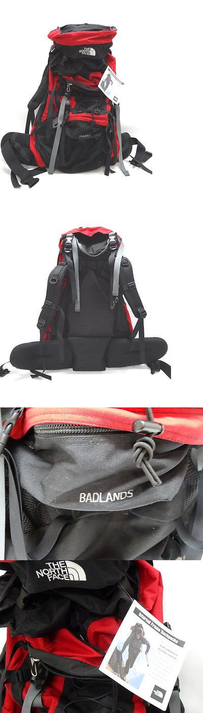 Other Camping Hiking Backpacks 36109: The North Face Badlands Medium Internal Frame Backpack - In Red, Black - Nwt -> BUY IT NOW ONLY: $159.99 on eBay!