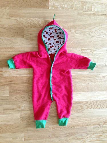 Baby Overall nähen 6