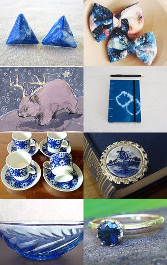 delft blues by Stuart McWilliam on Etsy--Pinned with TreasuryPin.com