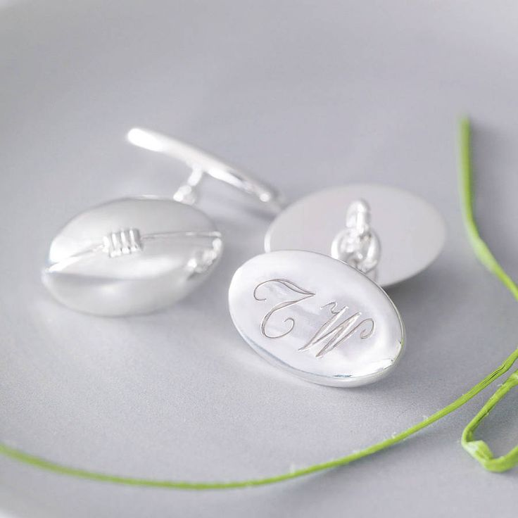 Rugby Ball Cufflinks from notonthehighstreet.com