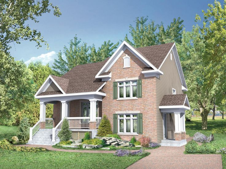 Multi Generational House Plan, 072H 0174