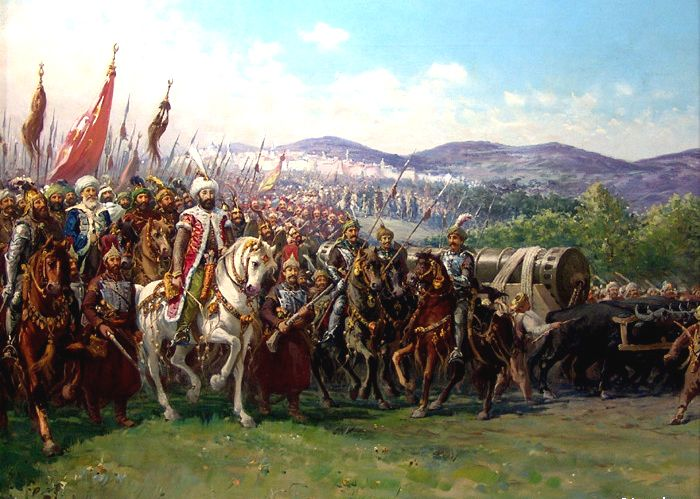 The Fall of Constantinople fell because someone forgot to close a small gate called a Kerkoporta.
