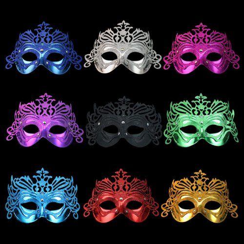 Fantasycart 10pcs Crown Fancy Dress Masquerade Party Masks $19.99 for 10