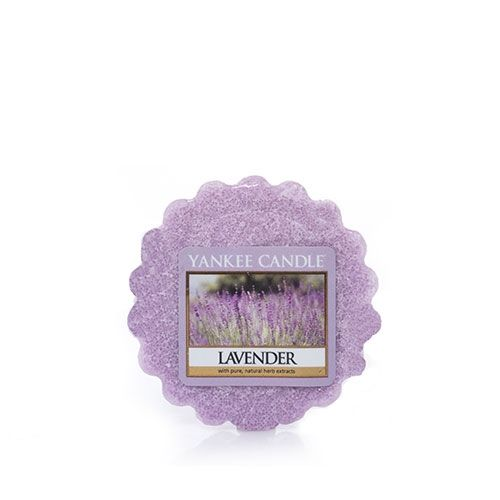 Lavender Tarts® wax melts Up to 8 Hours of Fragrance  About This Fragrance Powdered lavender bundles tied with heather that is both soothing and luxurious.