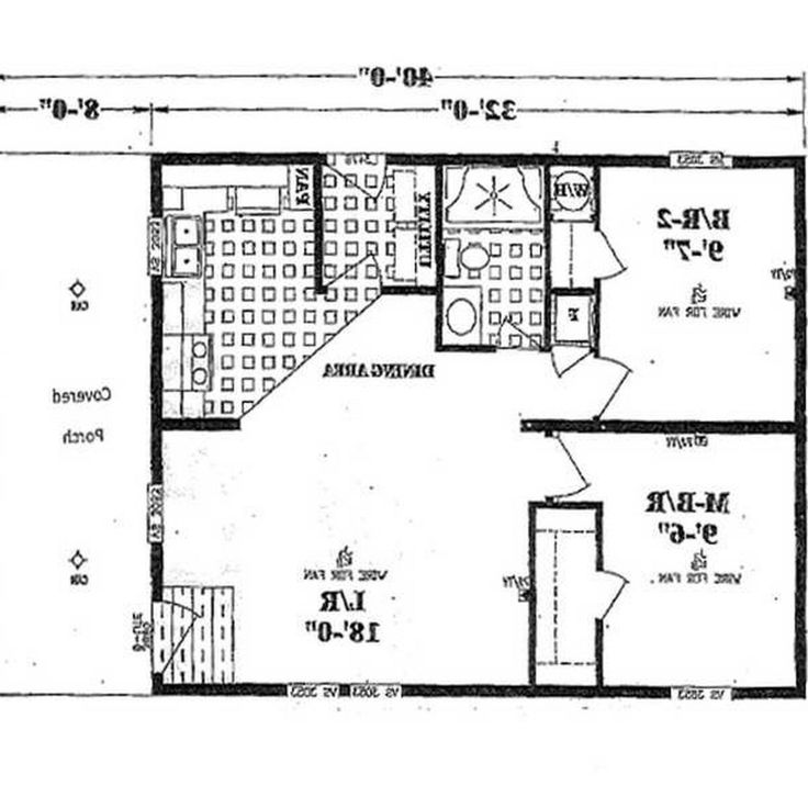 Small Mobile Homes Floor Plans