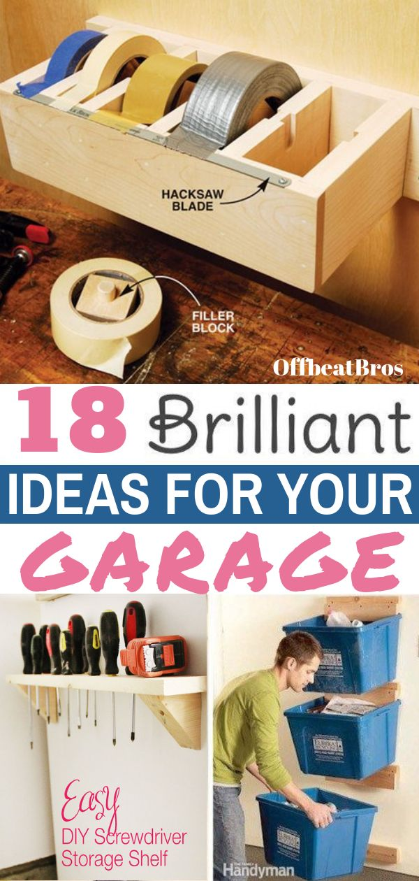 Need organized garage? These garage organization ideas will make garage organizing easy. Check out these garage organization tips today to have a clean and organized garage easily.