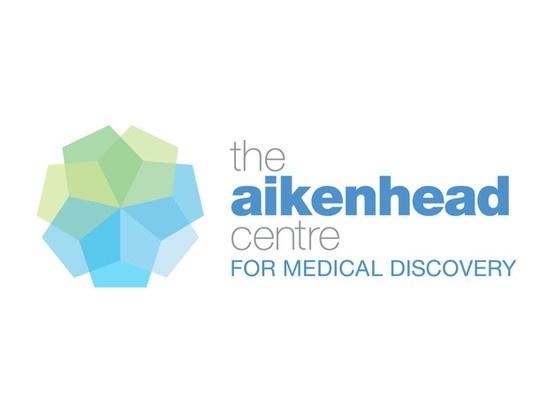Branding for the Aikenhead Centre for Medical Discovery. www.fenton.com.au #communication #PR #branding #graphicdesign