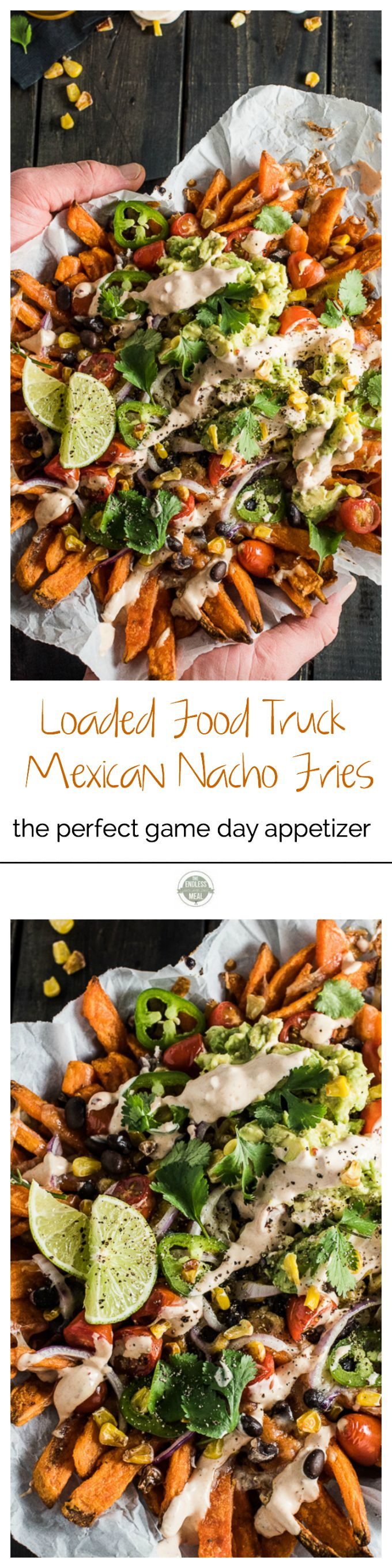 Loaded Food Truck Mexican Nacho Fries | The Endless Meal