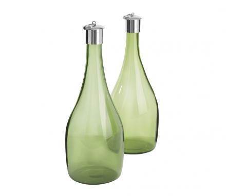 1960s Green Scandinavian Wine Decanters, £240.00