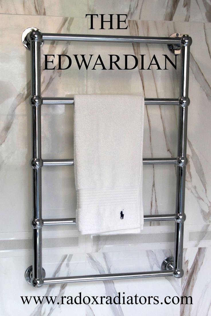 Bathroom radiators towel rails it is represent classic rectangular - The Edwardian Traditional Radiator Towel Warmer