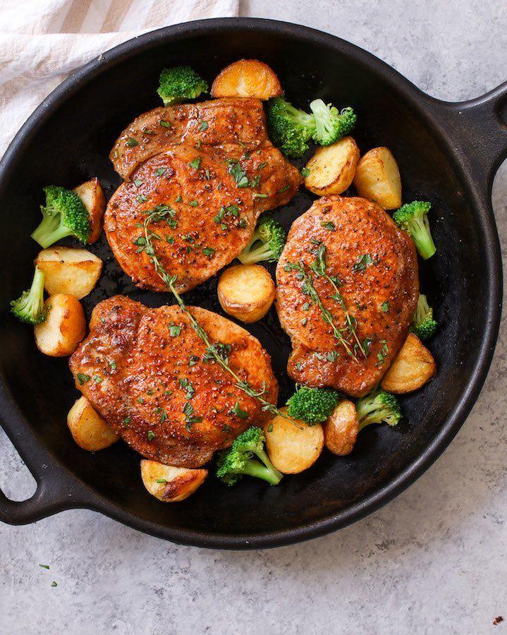 how to saute boneless pork chops