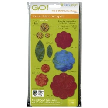 AccuQuilt GO! Fabric Cutting Dies; Rose Of Sharon..this is on my wish list