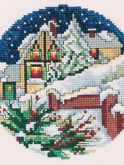 Cross-Stitch - Holiday & Seasonal Patterns - Christmas Patterns - Winter's Eve