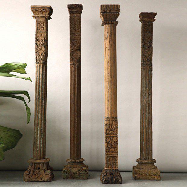 AFH FOUND: Huge Vintage Wood Column