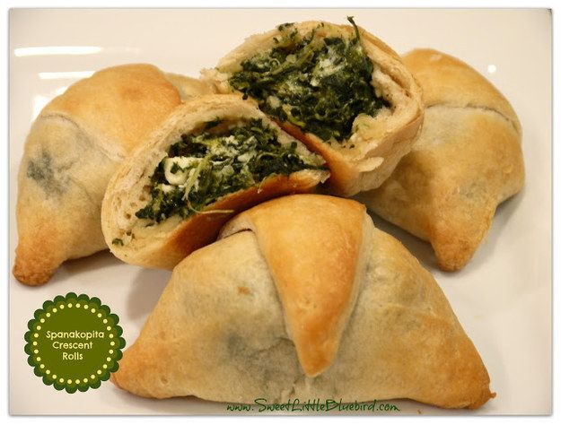 Spanakopita Crescent Rolls | 29 Incredibly Easy Things You Can Make With Crescent Roll Dough