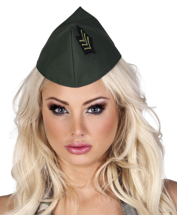 Boland Dark Green Army Cap Beret Fancy Dress Accessory #Boland