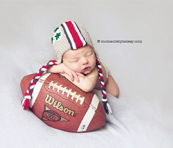 Ohio State Baby, OSU Buckeye Helmet Hat, Ohio State Baby - Made to Order - Newborn, Up to 12 Months.... OMG YES!!!!