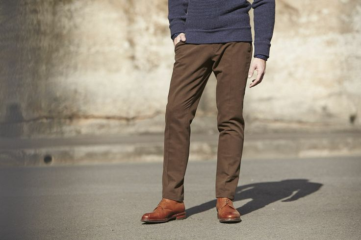 We've just taken delivery of our new slim fit Venus chinos, right in time for some winter matching of tailored separates. 4 colours to choose from - marine blue, brown, green and stone.  http://www.mjbale.com/catalogsearch/result/?q=venus