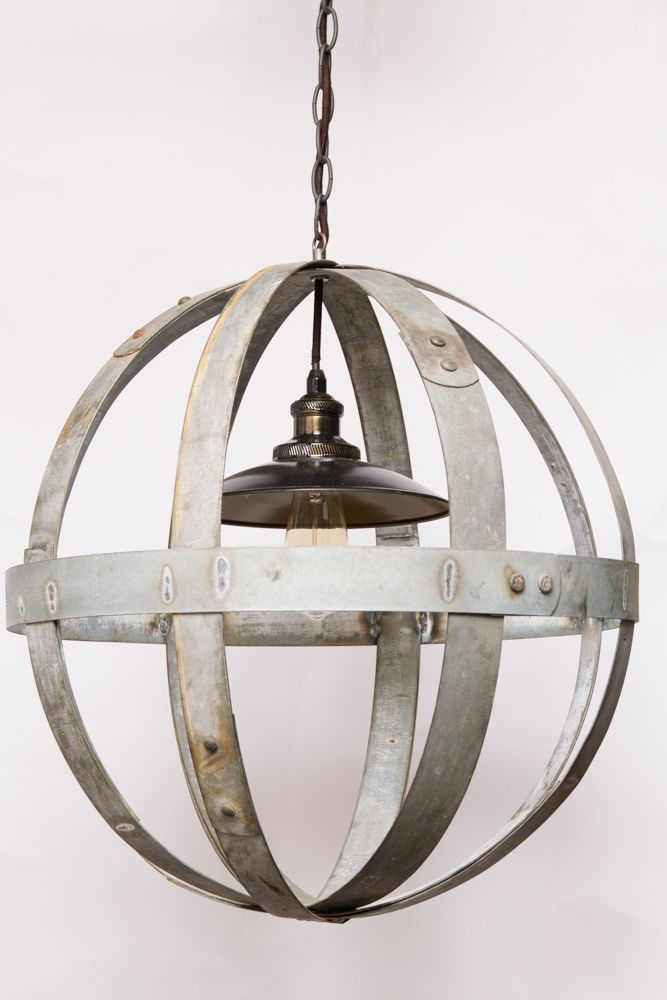 wine barrel lighting. globe chandelier wine barrel furniture lighting e