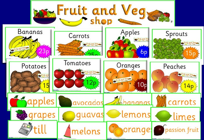 Fruit and Vegetable shop roleplay pack (SB652
