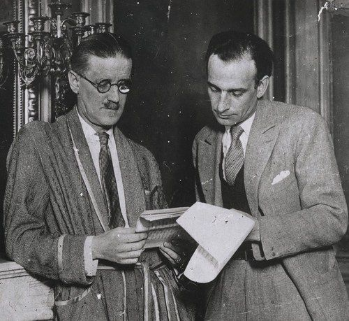 James Joyce et Philippe Soupault, 1931