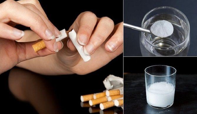 Pesquisador ensina como parar de fumar em apenas 2 semanas usando bicarbonato de sódio   Cura pela Natureza