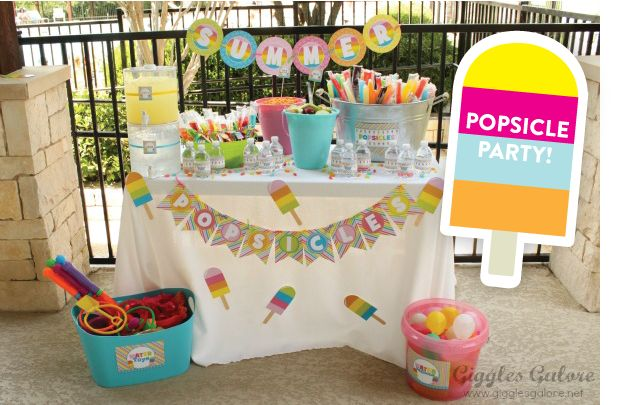 CUTEST Summer Popsicle Party Photos + Inspiration!