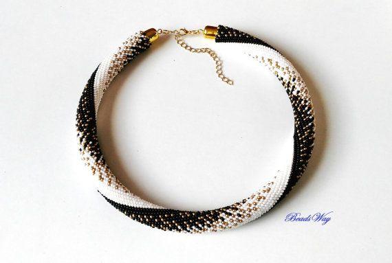 Necklace of beads/Collana Fra terra e cielo/Collana di di BeadsWay