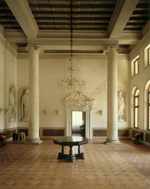 2088 best images about eentr e on pinterest for Italian villa interior