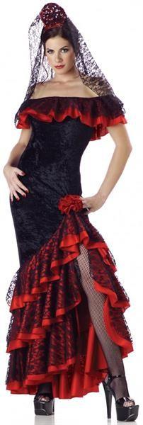 Костюмы фламенко больших размеров