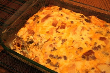 Christmas Breakfast Sausage Casserole Recipes — Dishmaps