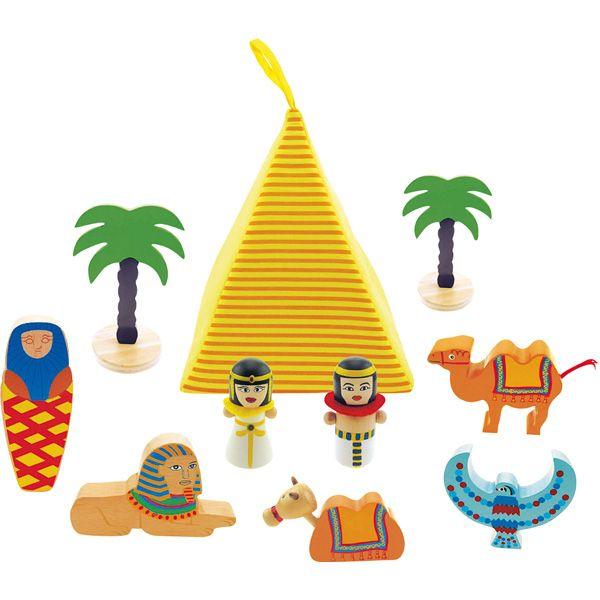 Mini wioska Egipcjan dla dzieci #creative #toys #wooden #kids #fun #gifts #egypt  http://www.mojebambino.pl/zestawy-do-zabaw-swobodnych/3483-mini-wioska-egipcjan.html